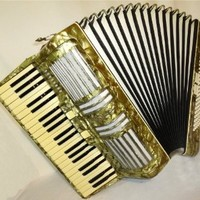 Firotti Busoni III 120 Bass, Vintage Rare German Accordion for sale