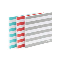 Striped Mobile Memos: Set of 3 | Sticky Notes | Poppin