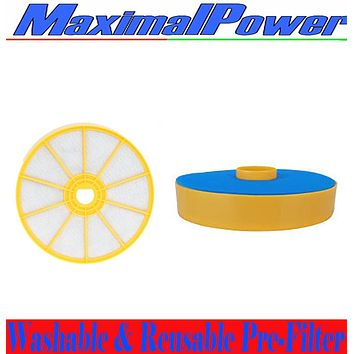 MaximalPower DC-07 Washable & Reusable Pre-Filter, Replaces Dyson DC07 Pre-Motor Filter