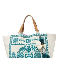 Palma Embroidered Tote