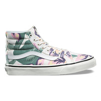 Vintage Floral UA SK8-Hi Slim | Shop Shoes At Vans