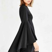 Ecote Bella Donna Bell-Sleeve Mini Dress