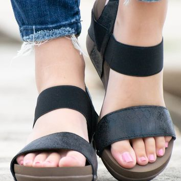Black Bandit Wedges