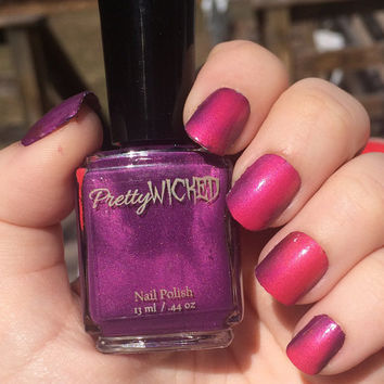 Pink/Purple Thermal Nail Polish, Color Changing Nail Polish, Purple Nail Polish, Pink Nail Polish