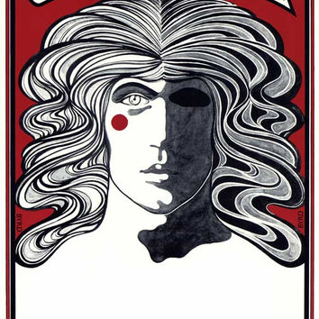 Godspell 11x17 Broadway Show Poster