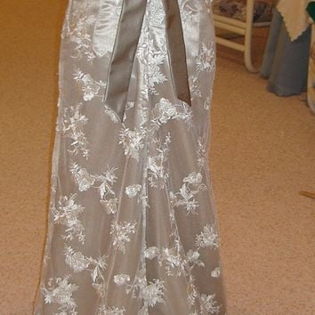 Custom made Vintage Style Lace Wedding Dresses by by SashCouture1