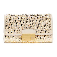 Michael Kors Gia Studded Clutch - Michael Kors
