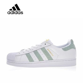 Original New Arrival Official Adidas Clover Men's & Women's Superstar Skateboarding Shoes Sport Outdoor Sneakers CP9502