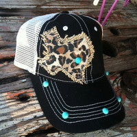 """Texas"" custom-made hat (5-styles) from PeaceLove&Jewels"