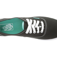 Vans Authentic™ Lo Pro (Pop) Black/Turquoise - Zappos.com Free Shipping BOTH Ways
