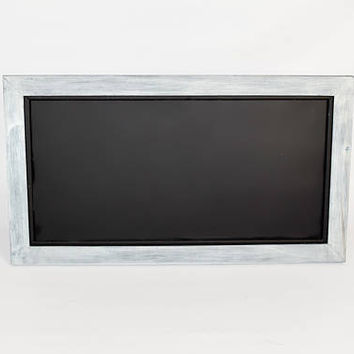 Chalkboard Magnetic Handmade - Magnetic Organizer Chalkboard - Message Center Wall Decor - Kitchen Notice Board - Memo Boards - 2' X 1'