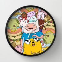Adventure Time Wall Clock by Laura O'Connor