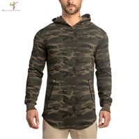 2017 NEW arrival  Hoodies camo hoodie sweatshirt belt patchwork Muscular giants hoodies men sportwear