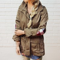 Sweet Plaid Parka