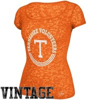 adidas Tennessee Volunteers Ladies Homesick Burnout T-Shirt - Tennessee Orange