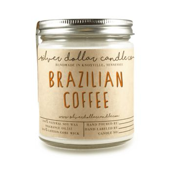 Brazilian Coffee - 8oz Soy Candle