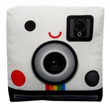 Handmade Gifts | Independent Design | Vintage Goods Mini Polaroid Pillow