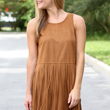 All I Ever Wanted Fringe Dress