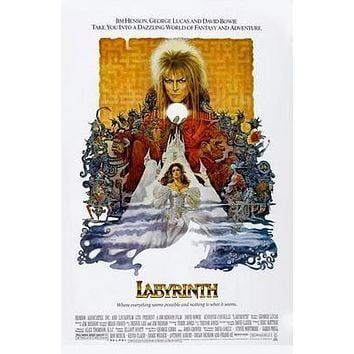 Labyrinth Movie Poster Standup 4inx6in