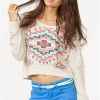 A'GACI Aztec Diamond Sweatshirt - New Arrivals