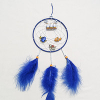 Disney Finding Nemo inspired dreamcatcher