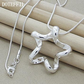 Sterling Silver Jewelry - Necklace Starfish