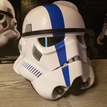 Stormtrooper Commander Helmet Decal Kit