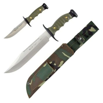 Muela MM-7222-P, 2 Knives OD & Black