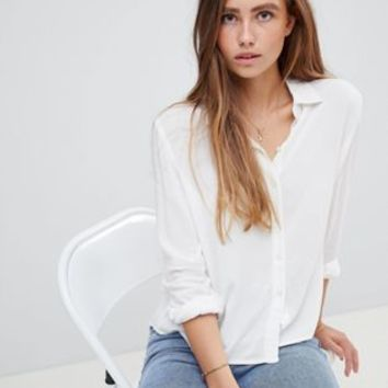 JDY white shirt at asos.com