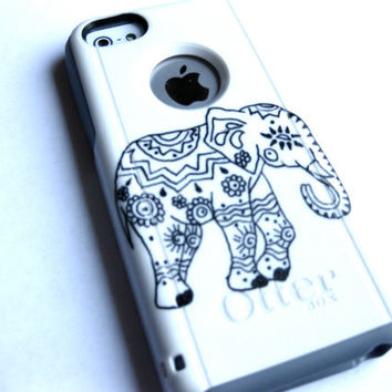 Indian Elephant otterbox Otterbox iPhone 5C case, case cover iphone 5c otterbox ,iphone 5c otterbox case,otterbox iphone 5C, otterbox