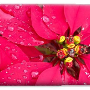 Poinsettia morning dew iPhone 6 Case for Sale by Zina Stromberg