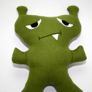 Zerk-The Monster Plush, Custom, Stuffed Animal, Soft Toy, Softie