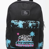Riot Society Cali Vice School Backpack - Mens Backpacks - Black - One