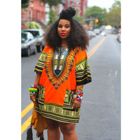 Dashikis African Dresses For Women