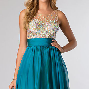 Short Sleeveless Party Dress from JVN by Jovani