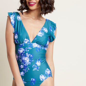 Lagoon Living One-Piece Swimsuit