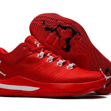 Beauty Ticks Jordan Chris Paul Cp3 X Ae Mens Basketball Shoe - Red Color