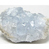 Blue Celestite Celestine Crystal Heavenly blue Mineral Specimen from Madagascar