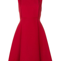 Valentino Flared Panel Dress - Farfetch