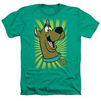 Scooby Doo TM Heathered Mens Tee Shirt