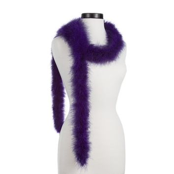 Regal Purple 25 Gram Marabou Feather Boas - NOT STEAMED