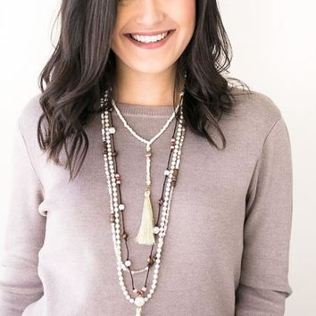 Pearls of Wisdom Layered Necklace