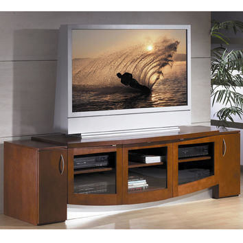 "Jazzy 82"" Modern TV Stand Home Theater Credenza"
