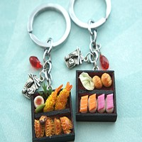 Bento Box Key Chain