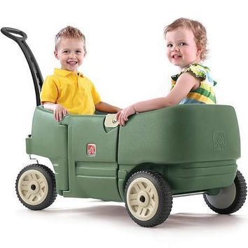 Step 2 Wagon, For Two Plus - Green