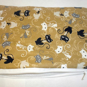 Cat Kindle Fire Case cat nook color cover by redmorningstudios