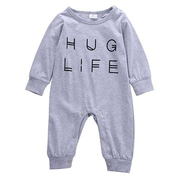 Autumn fashion baby boy clothes long sleeve baby rompers newborn cotton baby girl clothing jumpsuit infant clothing