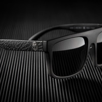 Regulator Sunglasses: Black Asphalt Customs