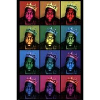 Walmart: Notorious BIG - Pop Art King Poster Print (24 x 36)