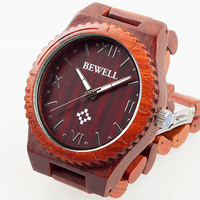 Sandalwood  Wooden Watch - Men's Wooden Watch Natural Sandalwood Wrist Watch - Idea Gifts